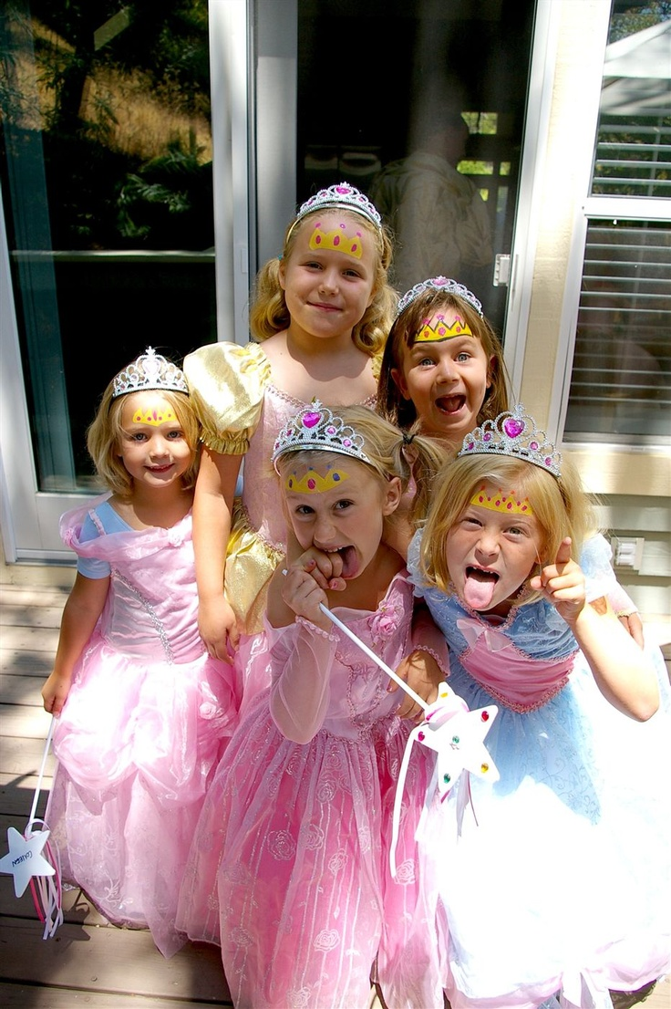 Face painting - princess pirate party