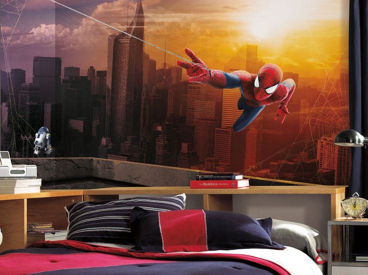 Spiderman Wall Mural 10 best marvel comic's spider-man wall decals, stickers, and