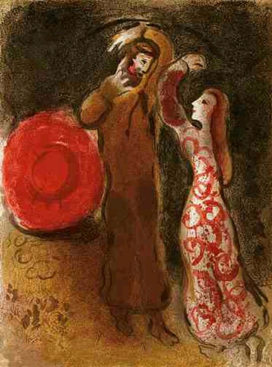 124 best Chagall images on Pinterest | Chagall paintings ... Chagallbijbel