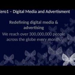 Zero1 is a Redefining digital media and advertising. We reach over 300,000,000 people across the globe every month. Visit us at http://zero1.io/