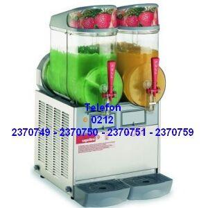 En kaliteli granita karlı buzlu şerbet frozen karlamaç makinalarının 1 2 ve 3 hazneli tüm modellerinin en uygun fiyatlarıyla satış telefonu 0212 2370749