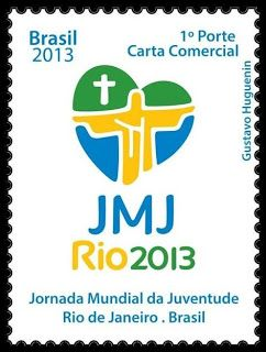 Brazil stamps 2013 | Rio 2013 issued on March 23, 2013