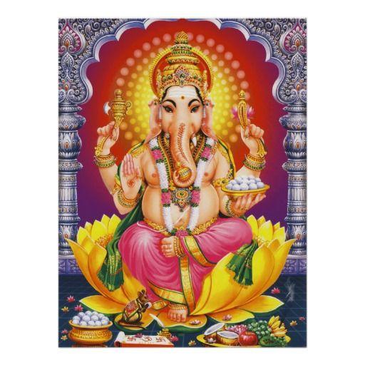 God Ganesha Print
