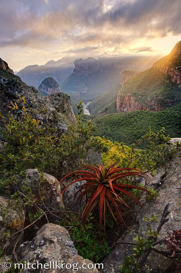 Blyde River Canyon, Mpumalanga province of South Africa. 3rd largest in the world.