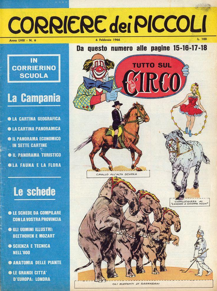 Corrierino e Giornalino: Tutto sul circo