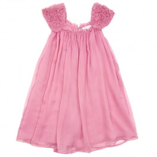 Vestidinho de algodão rosa