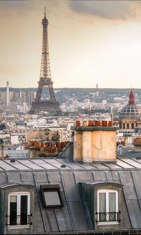 Los techos de París ...