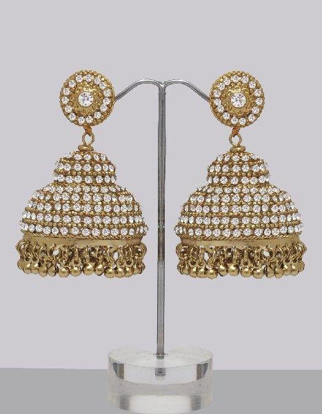 Very Large Jhumka Earrings