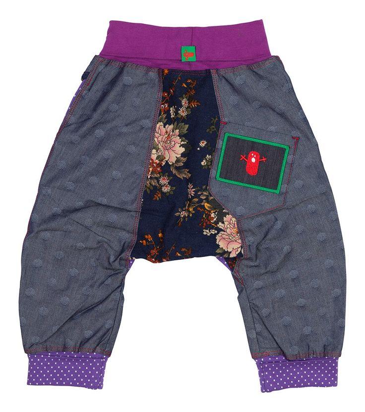 Violet Harem Pant, Oishi-m Clothing for kids, Autumn 2016, www.oishi-m.com