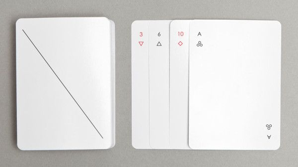joe doucet   minimalist IOTA playing cards