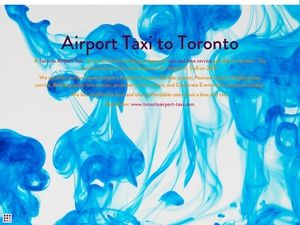 Toronto Airport taxi is flat rate discount on airport taxi and limo service in toronto. Book Now: www.torontoairport-taxi.com
