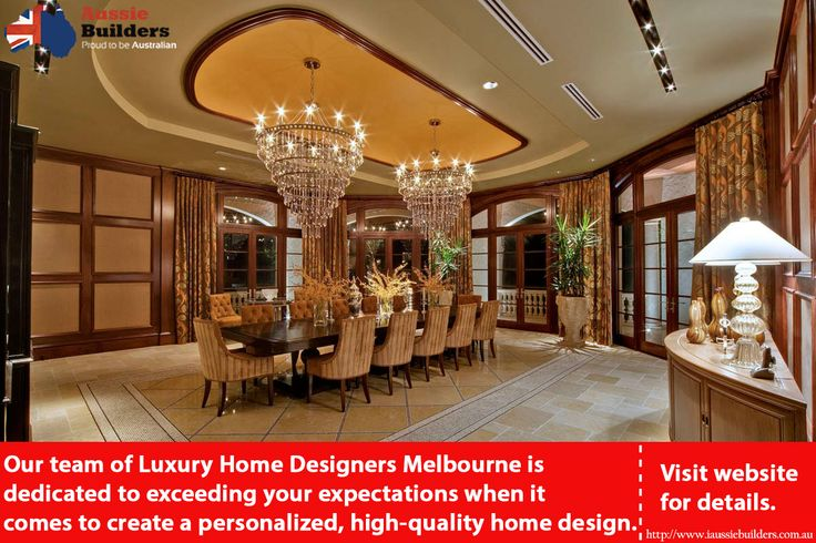 Our team of Luxury Home Designers Melbourne is dedicated to exceeding your expectations when it comes to create a personalized, high-quality home design. Visit website for details.