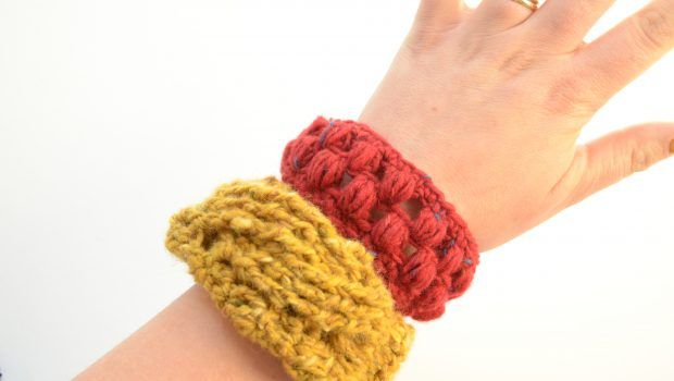 DIY tweed crochet bangles • LoveCrochet Blog