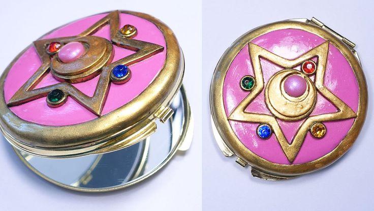 Sailor Moon Crystal Star Brooch Pocket Mirror Tutorial
