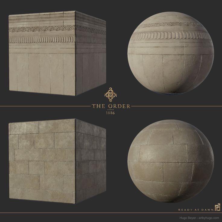 The Order - Material, Hugo Beyer on ArtStation at https://www.artstation.com/artwork/PeXNo
