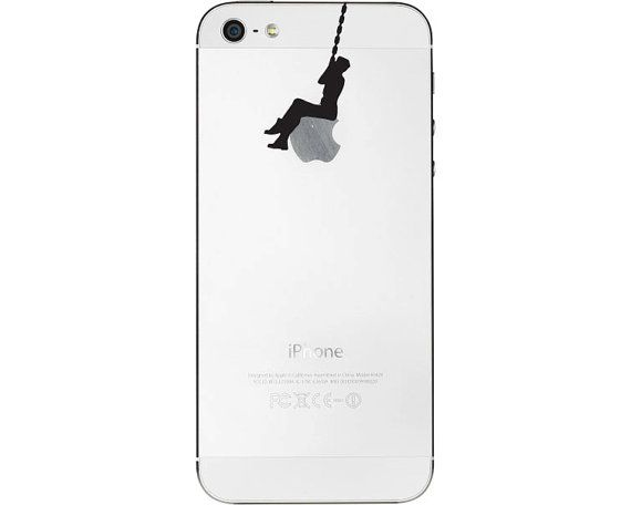 This is ridiculous...Original Miley Cyrus Wrecking Ball Iphone Decal Sticker