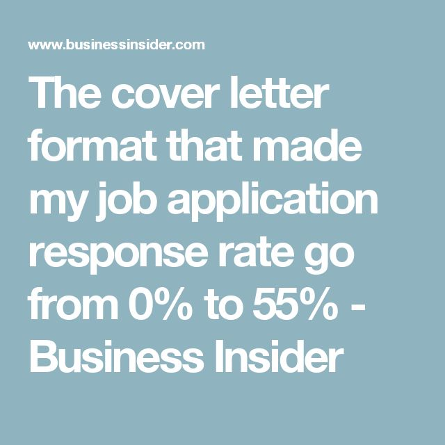 Why Your Job Cover Letter Sucks (and what you can do to fix it)