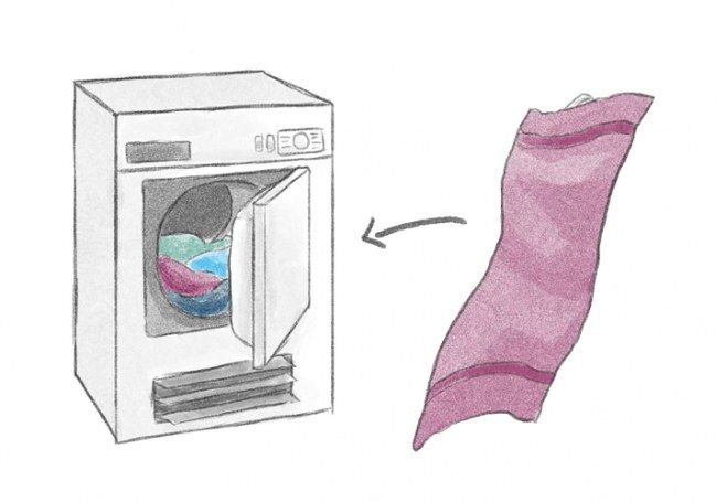 Wäsche waschen Tricks