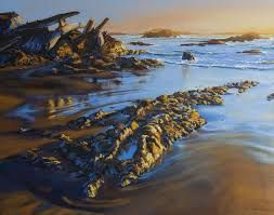 Image result for tofino sunset painting