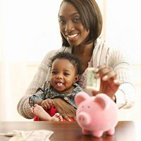 How to Get a Savings Plan In Place for Baby's Future (via Parents.com)