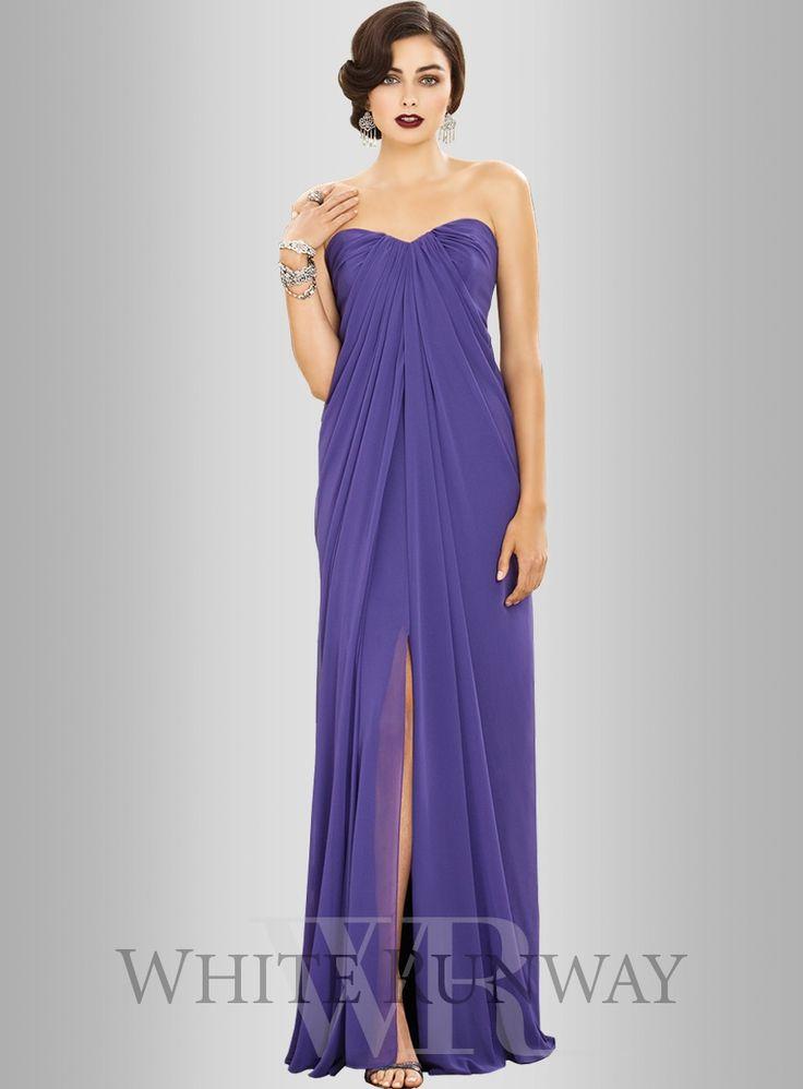 Dessy Britney Dress (In Champagne) - $350