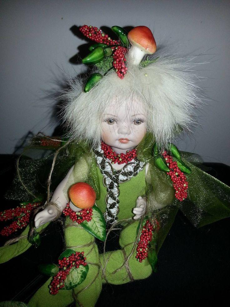 piccolo elfo porcellana italiana