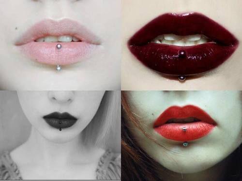 (13) lip piercing   Tumblr