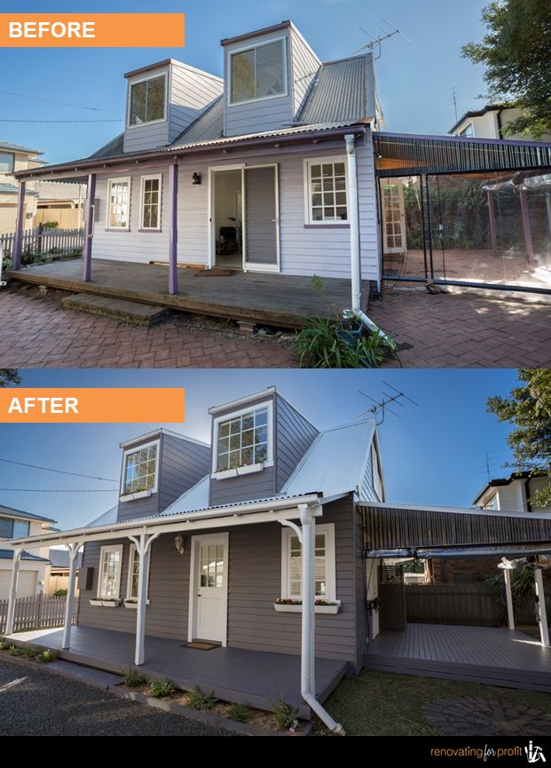 #facade #outdoorliving #renovation  See more exciting projects at: www.renovatingforprofit.com.au