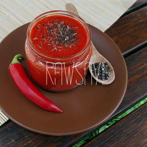 Соус-чили из сладкого перца - Сыроедение, рецепты и диеты - Rawsay