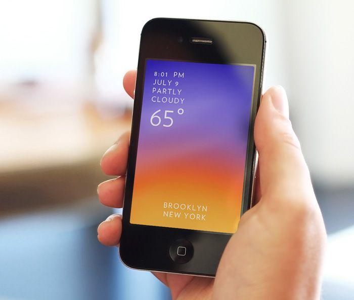 SOLAR App for iPhone.