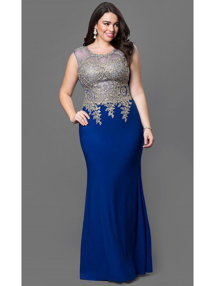 105 best Plus Size Prom Dresses images on Pinterest | Party wear ...