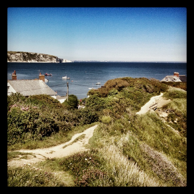 Swanage Bay in the summer!