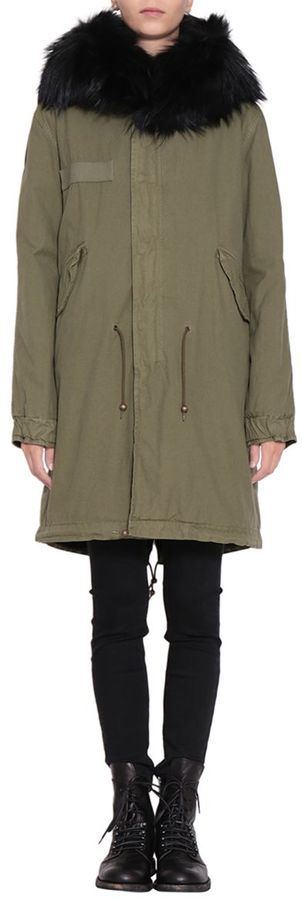 Mr & Mrs Italy Cotton Canvas Parka