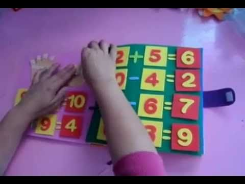 Livro sensorial para crianças de 6 anos.. - YouTube