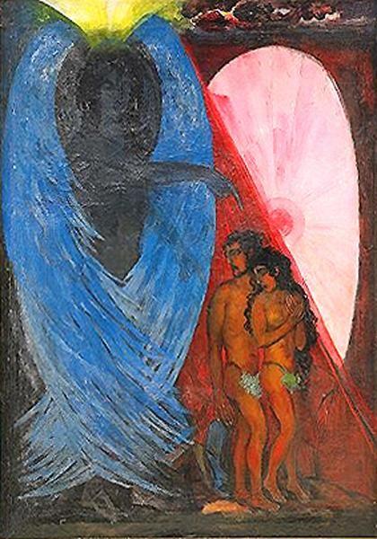 Борис Анисфельд. Адам и Ева.