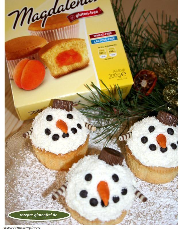 Schneemann Muffins #sweetmasterpieces #glutenfrei