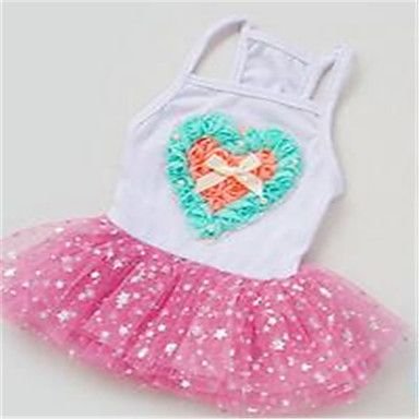 Dog+Dress+Dog+Clothes+Cute+Hearts+Blue+Blushing+Pink+–+USD+$+9.99