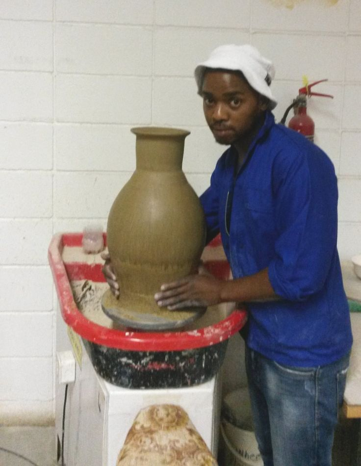 Musa with his big pot