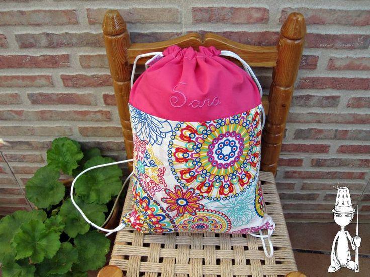 mochila personalizada para chica...