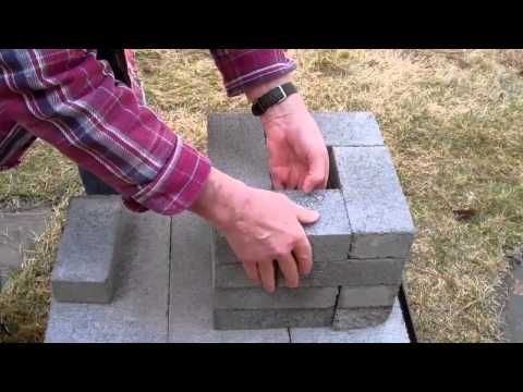 How to build a Brick Rocket Stove for around $6