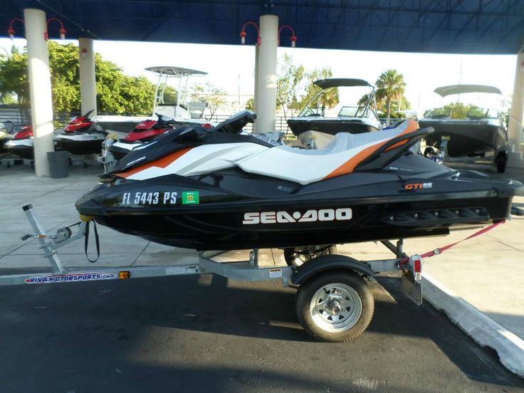 Check out this 2013 Sea Doo/Bombardier GTI SE 155 listing in Pompano Beach, FL 33064 on Cycletrader.com. It is a Three Seater Personal Watercraft and is for sale at $8000.