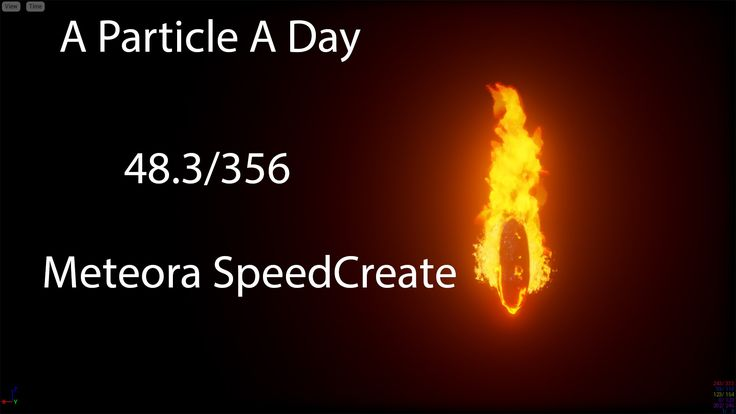 [UE4] -Meteora- Luos's A Particle A Day For A Year! 48/356 - SpeedCreate...