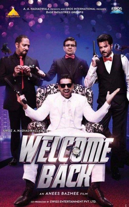 Welcome Back Hindi Movie Online - Anil Kapoor, Nana Patekar, John Abraham, Shruti Haasan, Shiney Ahuja, Paresh Rawal and Naseeruddin Shah. Directed by Anees Bazmee. Music by Meet Bros Anjan. 2015 [U/A] BLURAY ULTRA HD ENGLISH SUBTITLE