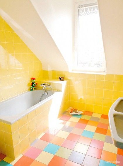 best 25 yellow tile bathrooms ideas on 15241