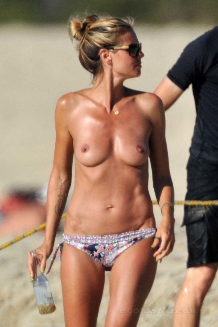 HUMPDAY HUZZAH: Heidi Klum Topless Sunbathing Pictures Are Downright Wunderbar!