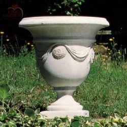 Vaso in pietra ricostituita Tiziano  Vasi in pietra  Pinterest