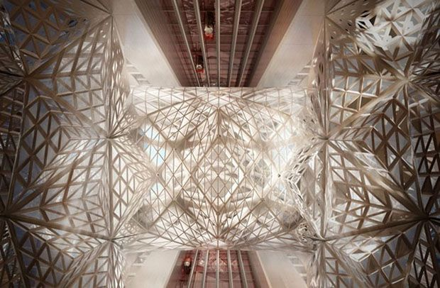 Hotal-Casino de Zaha Hadid en Macau