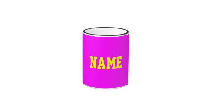 Your Name Ringer Coffee Mug