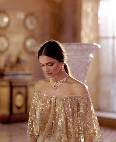 "queendeepika: ""Deepika Padukone for Tanishq """