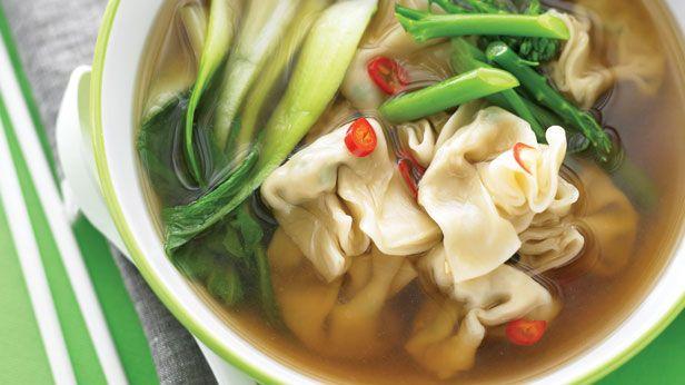 Chicken money bag soup recipe - 9Kitchen